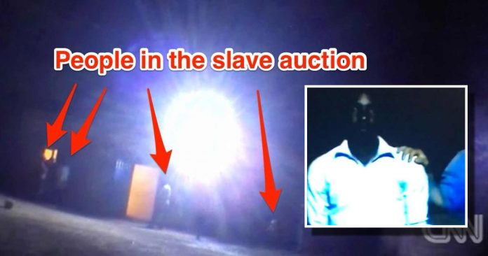 Disturbing New Video Shows Real Life Slave Trade, Humans Being Bought & Sold in the Open