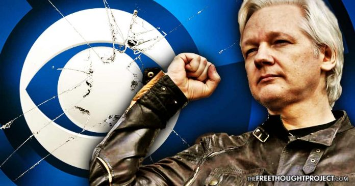 Julian Assange Calls Out CBS Lies, Offers The 'Oligarchs' $100K if They Can Prove Their Claim