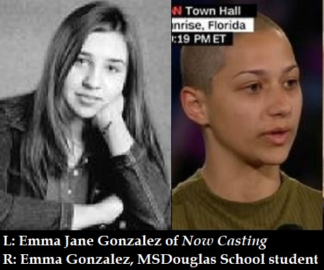 Emma Gonzalez, Parkland school student, is a professional actress