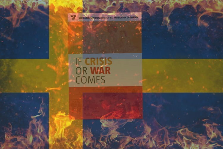 Sweden Warns Every Single Household to Prep for WAR