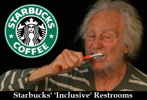 Starbucks 'inclusive' restrooms: blood-spattered walls, used needles & poop
