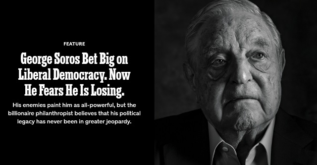 George Soros Bet Big On World Communism. Now He Fears He Is Losing.