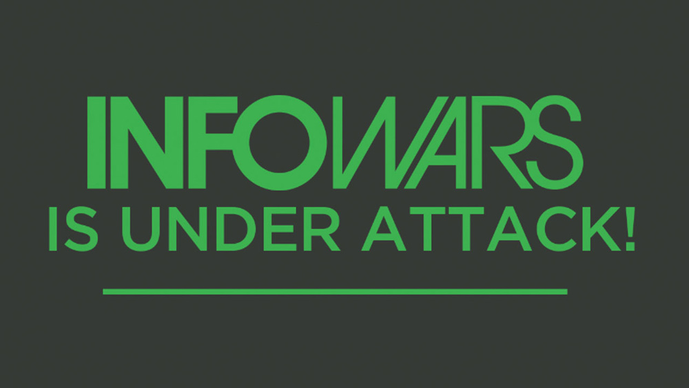 "InfoWars Taken DOWN! Alex Jones issues red alert: Coordinated ""treason"" attack on America under way right now"