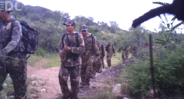 Illegals Armed With AR-15s And AK-47s Filmed Invading America Through Southern Border