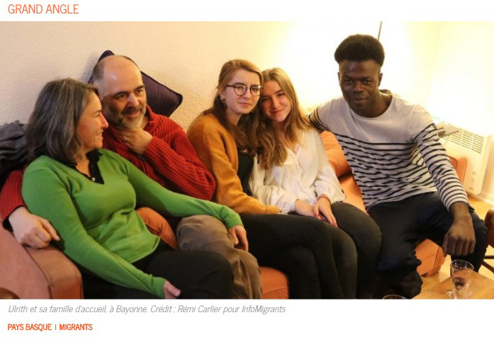 French Family Adopts '16-Yr-Old' African Migrant With Receding Hairline And Bags Under His Eyes