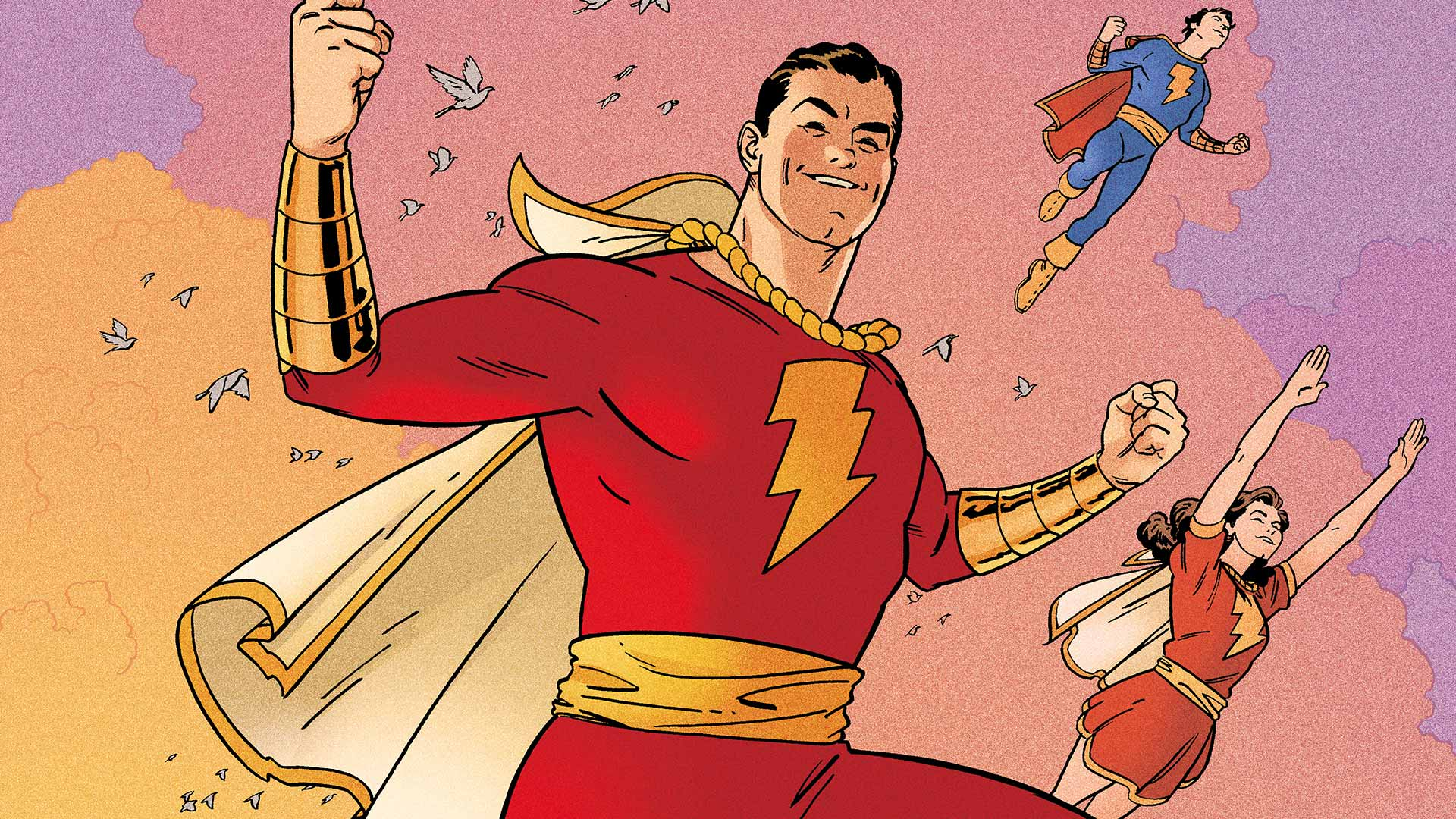 Image result for dc comics shazam doc shaner