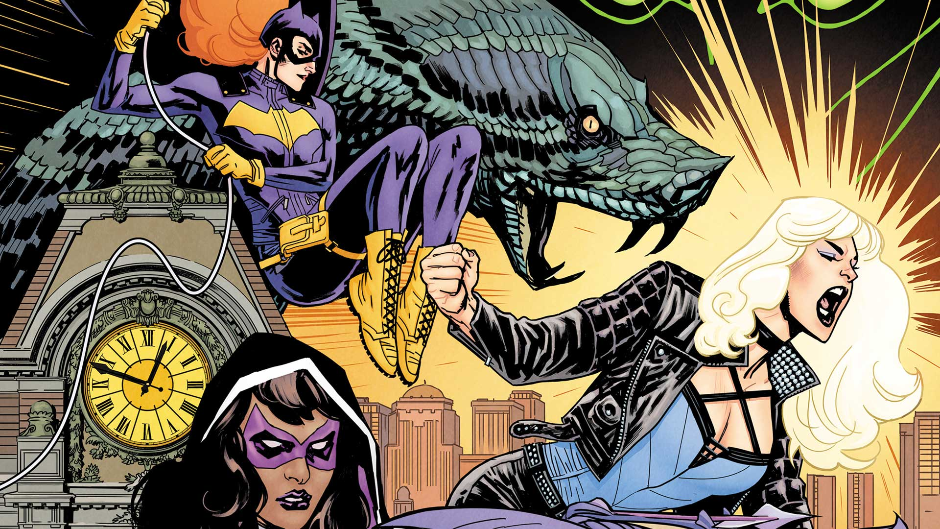 Image result for batgirl and the birds of prey