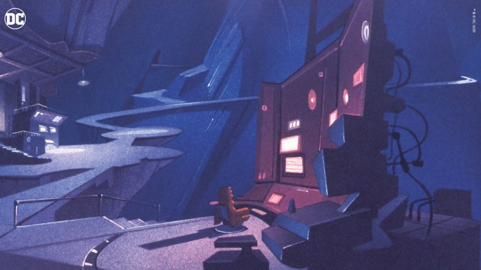 Relive Batman The Animated Series With These New Virtual Backgrounds Dc