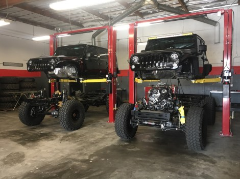 Jeep Customization Shop in Los Angeles