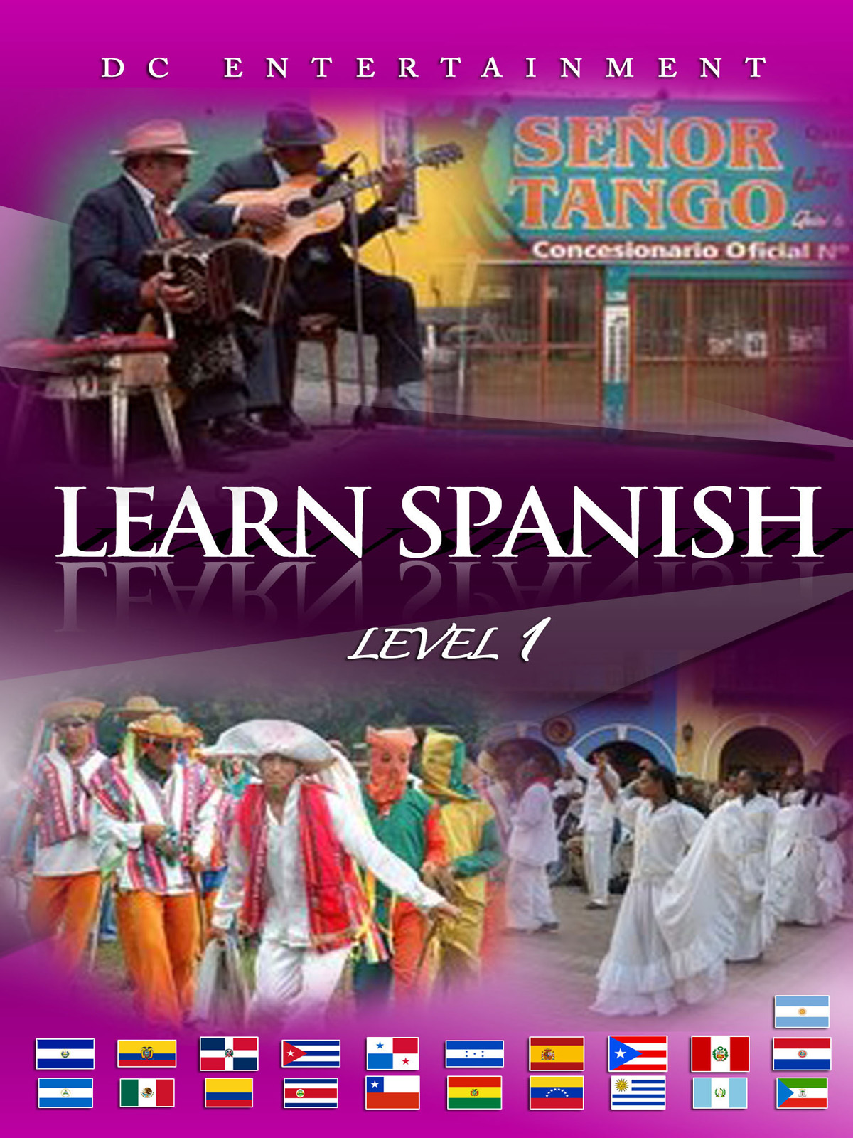 Learn Spanish Level 1 Dc Entertainment