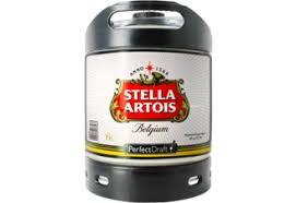 Barril Stella Artois 6l