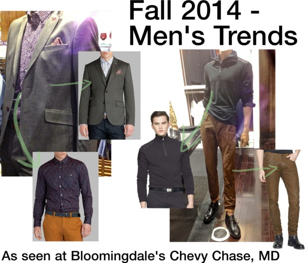 Bloomingdale's Fall 2014 - Men's Trends