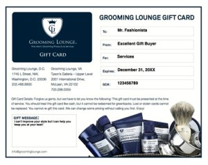 Grooming Lounge Services