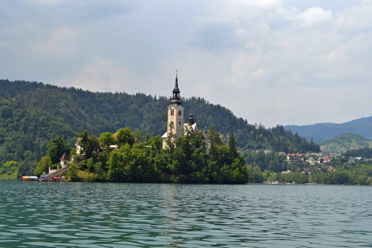 A visit to Lake Bled during six days in Slovenia