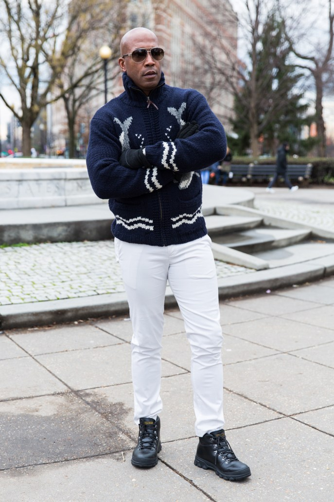 Winter Clothing - stance