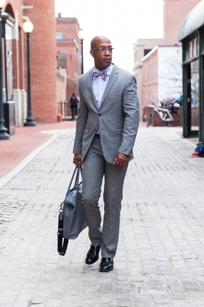 DCFashion Fool Spring Style i gray suit