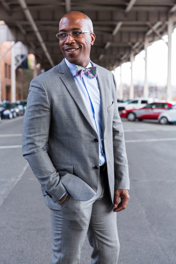 DCFashion Fool Spring smile in gray suit