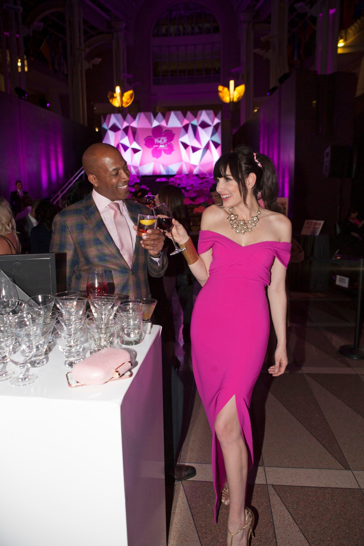 Pink Tie Party with ChicVilleUSA
