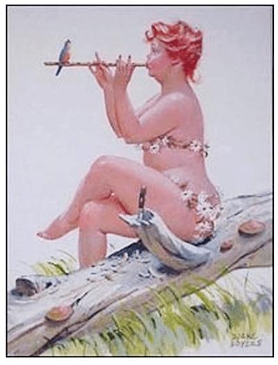 Hilda Calendar Art
