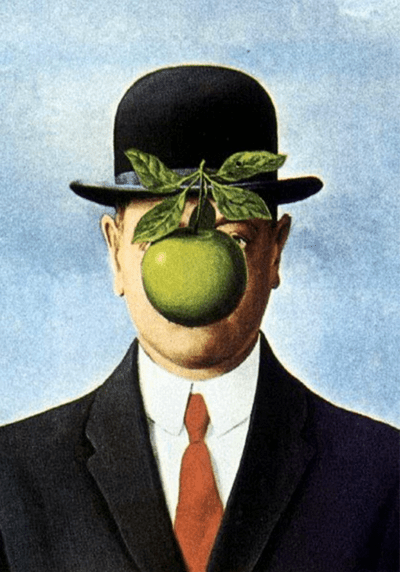 Painting by René Magritte