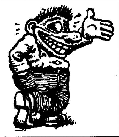 Mr. Snoid, by R. Crumb.
