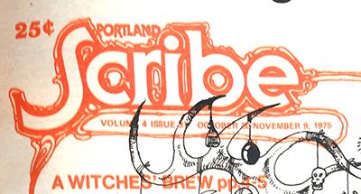 Logo from Portland Scribe