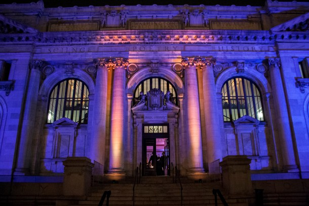 The 2014 Making D.C. History Awards were held in the Society's home at the Carnegie Library building.
