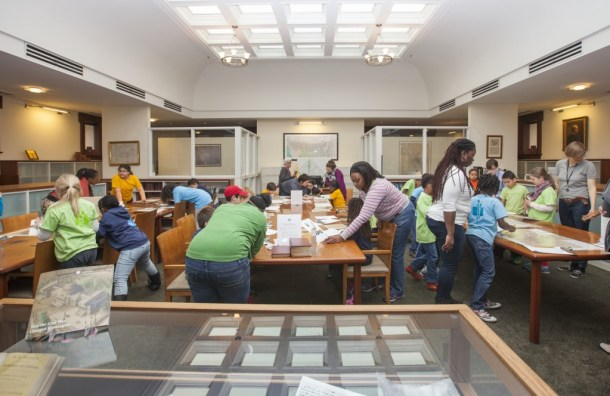Help us transform the Kiplinger Research Library  into an expeditionary classroom for future historians of local Washington!