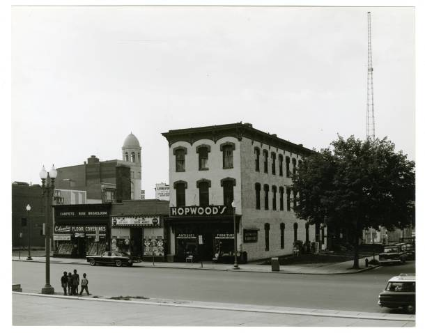 """Photo by William """"Bill"""" Barrett of 8th and K Street, NW from the Kiplinger Washington Collection."""