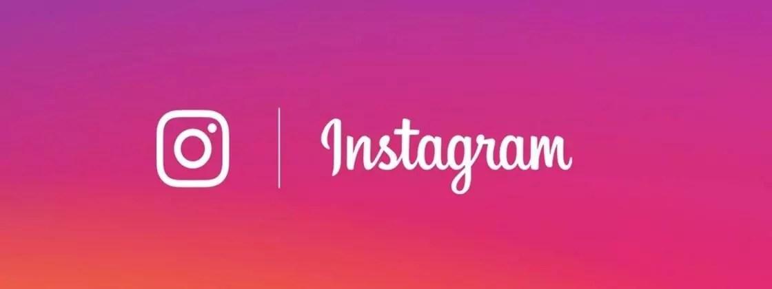 Imagem mostra o logotipo do Instagram