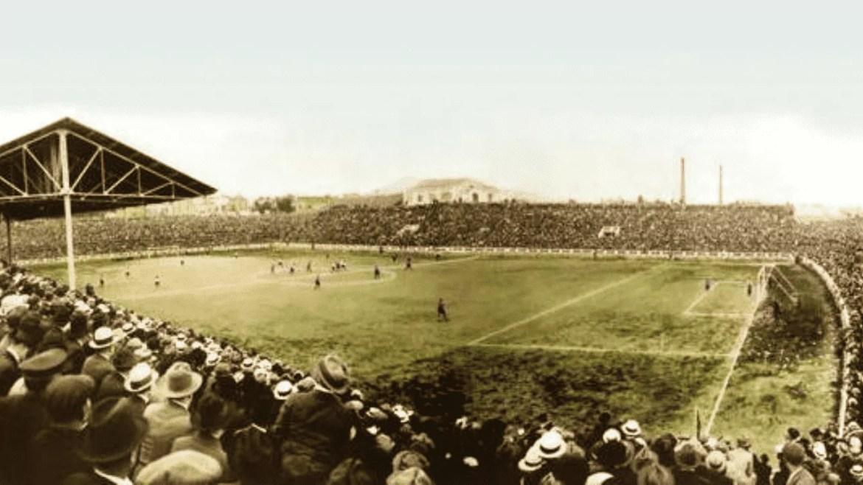 Imagem mostra o antigo estadio Les Corts