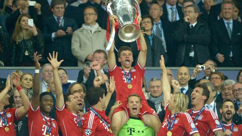 Bayern de Munique campeão da Champions em 2013