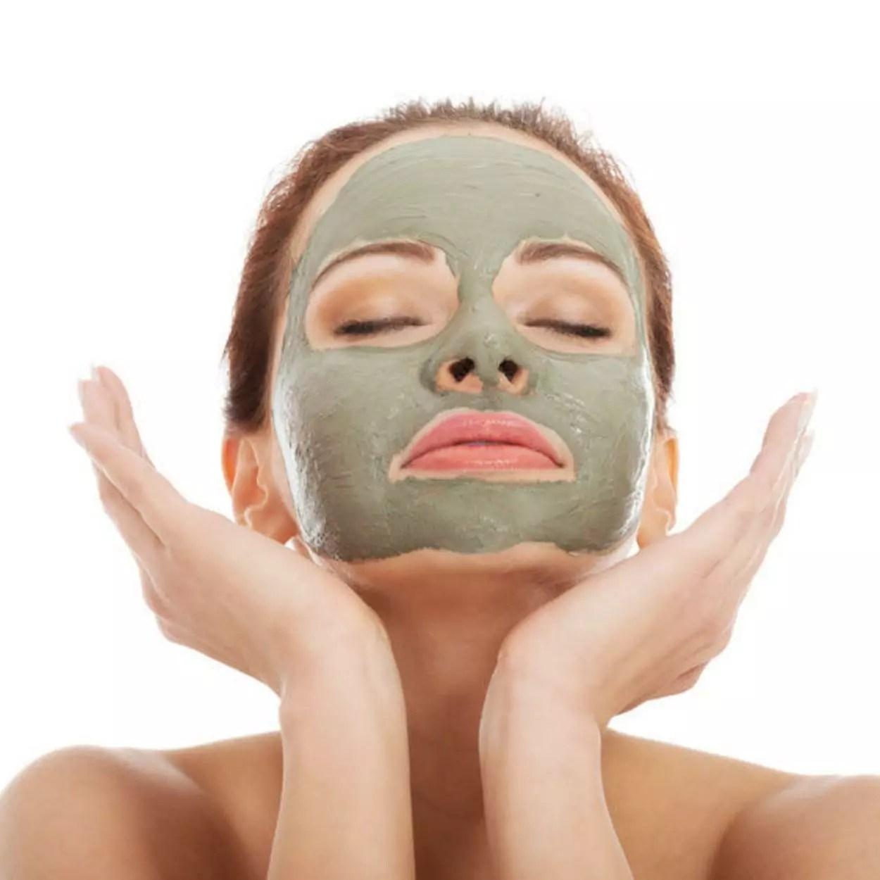 máscaras de argila