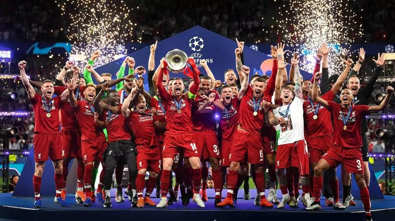 Liverpool está na lista dos maiores vencedores da Champions