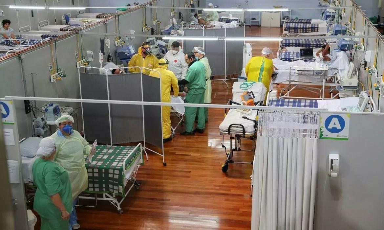Mortes por coronavírus no Brasil