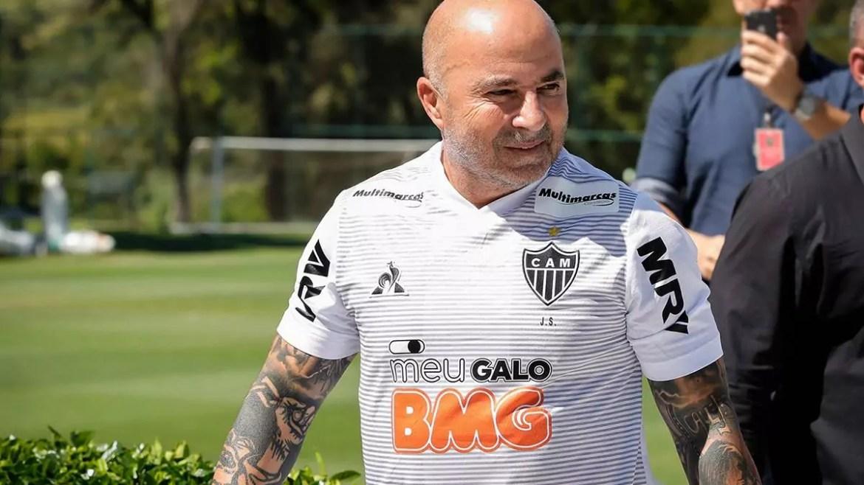 Jorge Sampaoli, técnico do Atlético-MG