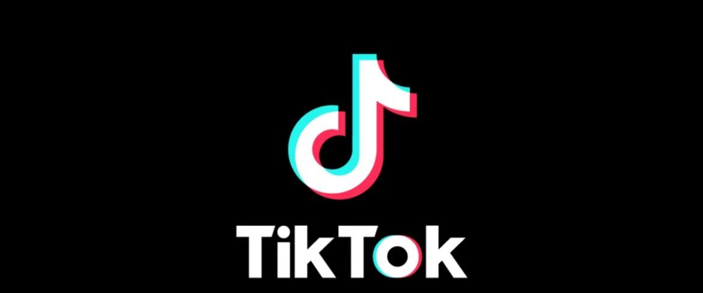 Imagem mostra o logo da rede TikTok