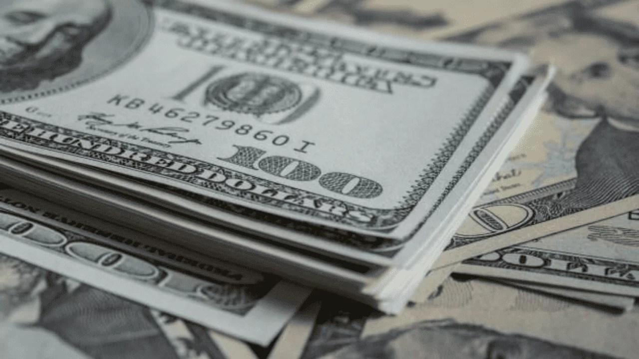 Cotação 05/08/2020: imagem mostra dólar