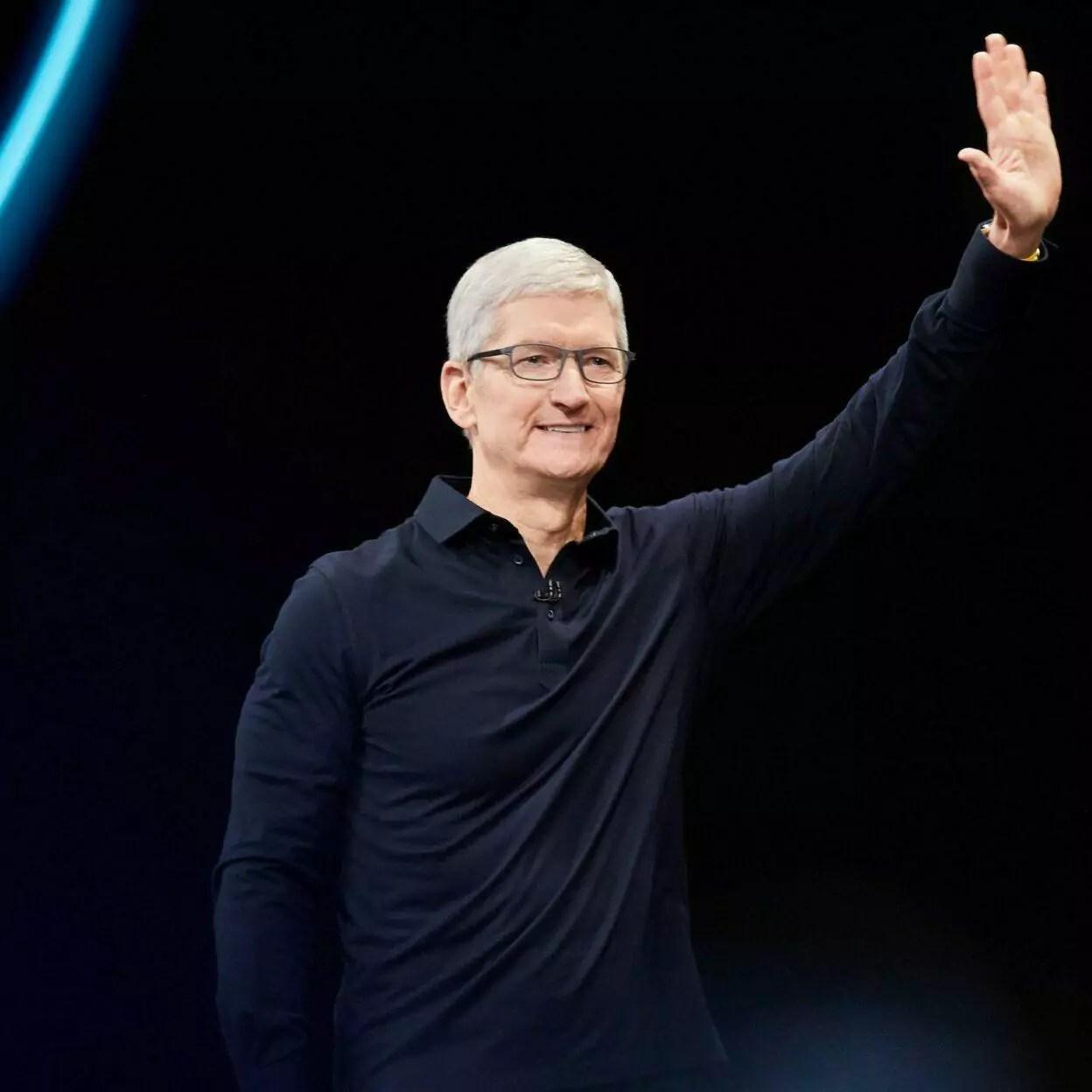 chefe da apple é bilionário