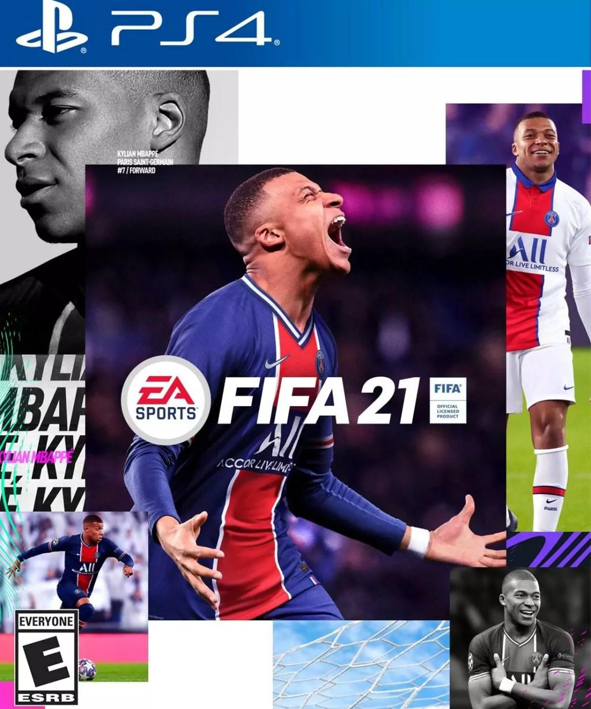 Mbappé na capa é uma das novidades do FIFA 21