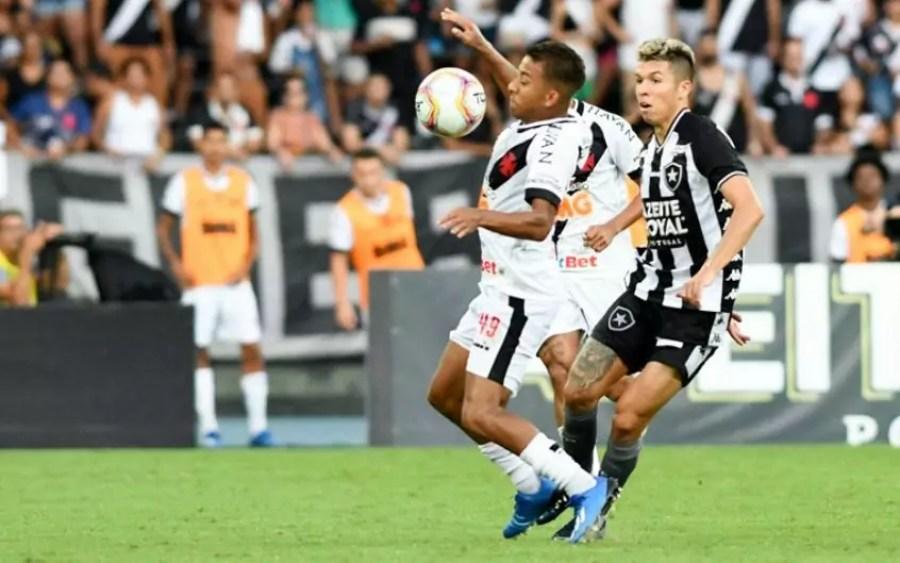 Clássico entre Botafogo e Vasco