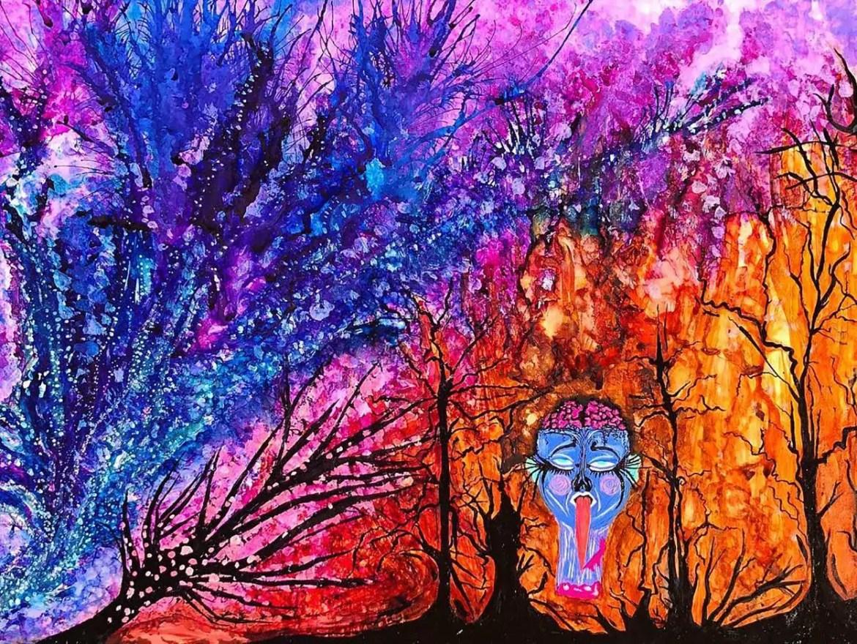 Obra de arte de Frances Bean Cobain