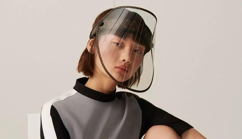 Louis Vuitton lança máscara de luxo