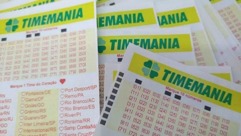 Timemania concurso