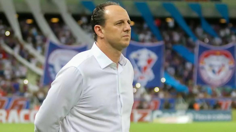Rogério Ceni, técnico do Fortaleza