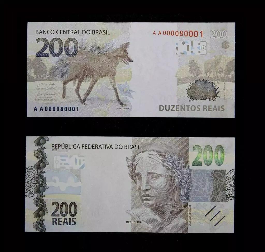Cédula de 200 reais