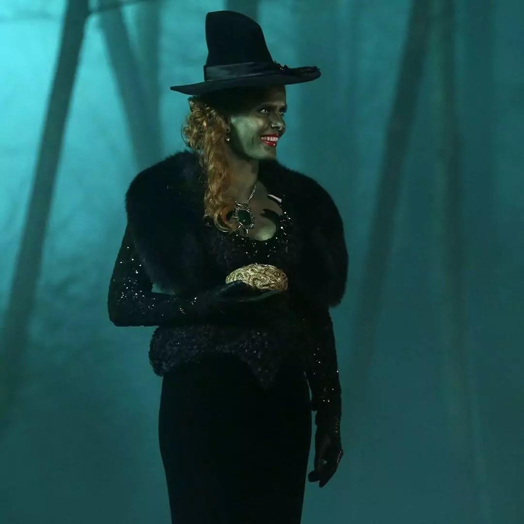 """Imagem mostra bruxa da série """"Era Uma Vez"""""""