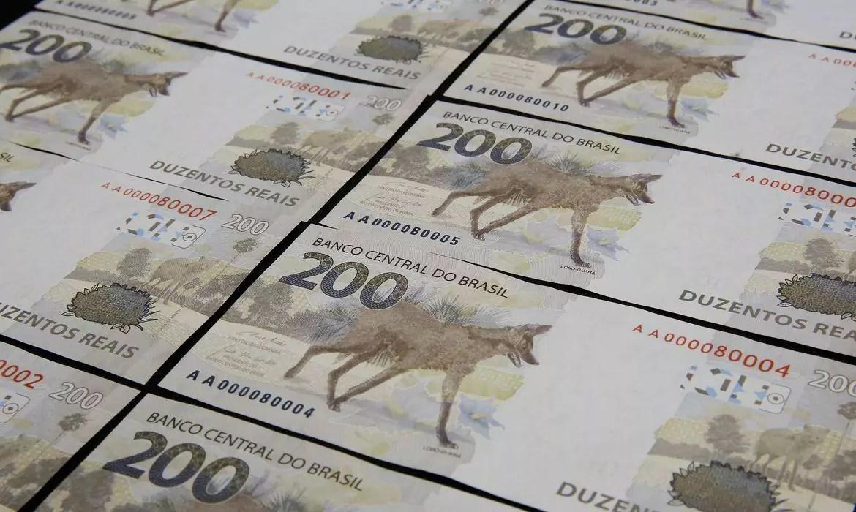 Nota de R$ 200 passou a circular em setembro no Brasil. Foto: Raphael Ribeiro/BCB