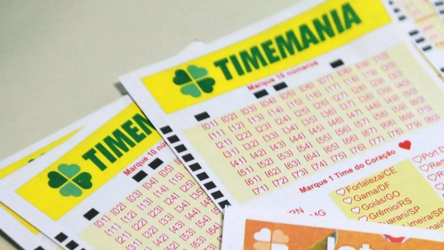 Resultado do concurso 1555 da Timemania de ontem (27); confira quais foram os números sorteados