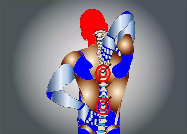 causas de dores na coluna